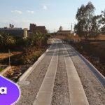 Mejoramos caminos con empedrado ecológico en su comunidad de Los Fresnos.